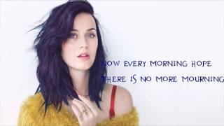Katy Perry - By The Grace of God ( Lyric Video)
