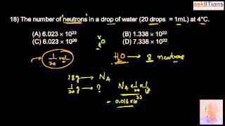 Test Paper-Basic concepts of Chemistry| Chemistry|Class 11| IIT JEE Main/Advanced| NEET| askIITians