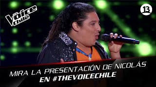 The Voice Chile | Nicolás Echeverría - Quimbara