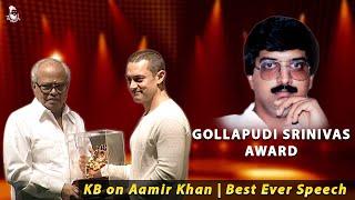 KB on Aamir Khan | Best Ever Speech !! | Must watch