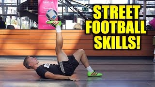 Football Skills in a SHOPPING MALL!