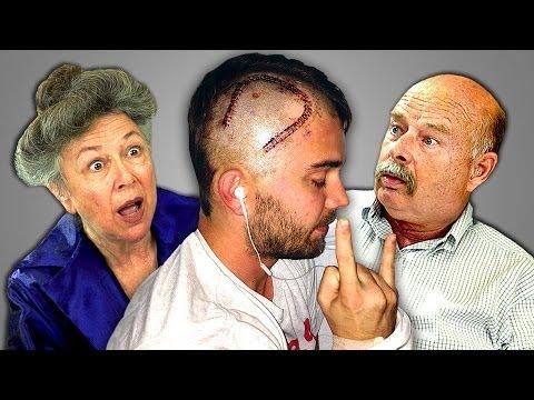 Elders React to Brain Surgery Vlog (CTFxC)