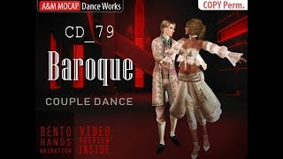 SL - Baroque - couple dance for Second Life