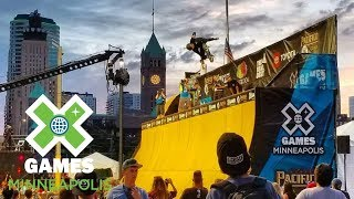 Skateboard Vert Qualifier: FULL BROADCAST | X Games Minneapolis 2018
