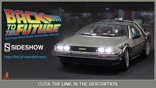 Back To The Future Hot Toys Delorean Time Machine Movie Masterpiece 1/6 Scale Vehicle Review