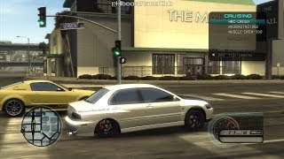 Midnight Club LA (PS3) | Drag Racing A Few Cars (Evo 9s, Skylines, & Mustangs)