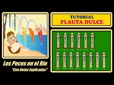 Los Peces en el Rio en Flauta