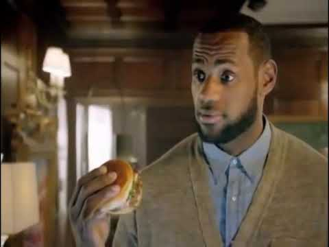Johnny Manziel Heisman Lebron James McDonald's Commercial