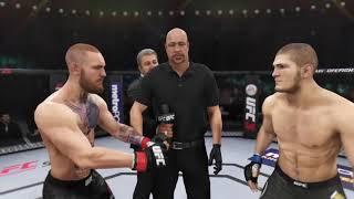 Conor McGregor vs. Khabib Nurmagomedov UFC3 23th time