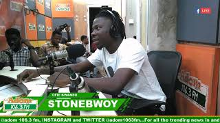 Exclusive interview with Stonebwoy