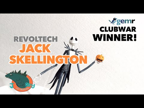 ClubWar Winner! Revoltech Jack Skellington Review