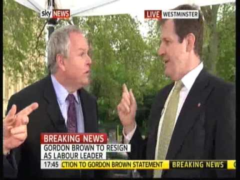 Adam Boulton (Sky News) v Alastair Campbell (Labour) - FIGHT FIGHT FIGHT!