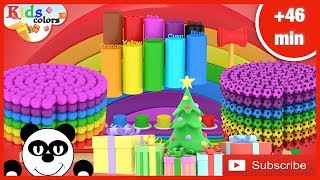Best of 2019 Kids Colors Learning Video |+ more 46min  | Learning Videos For Babies | Kids Videos
