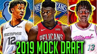 Official 2019 NBA Mock Draft AFTER The Anthony Davis Trade!