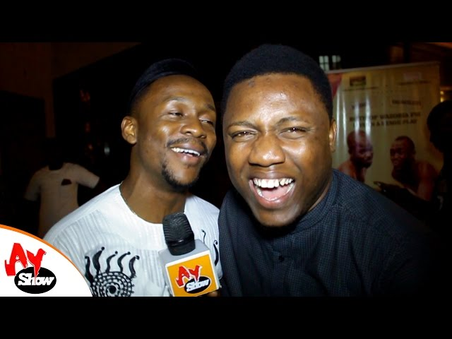 You Must Laugh Ushbebe & Amadi 'AY Show Presenters' Goes Crazy