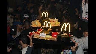 Drake serves McDonald's at after party [My Mixtapez News]