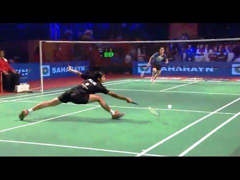 Premier Badminton League 2016 : Saina Nehwal comfortable win over Delhi Aces