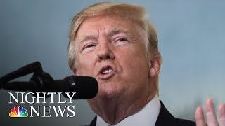 President Donald Trump Says Roy Moore Must Be Elected In Alabama | NBC Nightly News