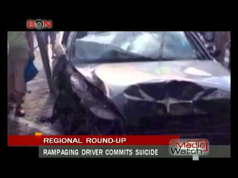 Rampaging driver commits suicide- Aug. 1st.,2014 - BONTV China