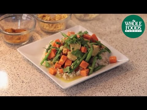 Tempeh Curry with Sweet Potatoes: Health Starts Here™