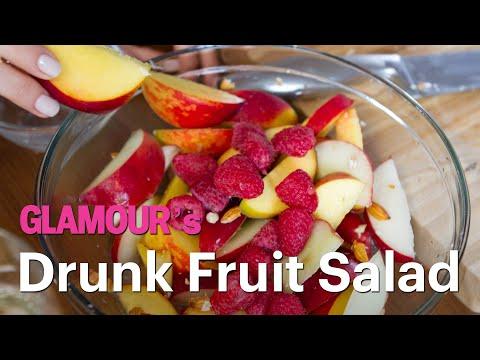 Healthy Drunken Fruit Salad Recipe - Treat Yourself
