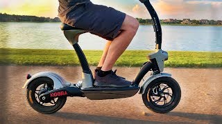 Kobra Seated Electric Scooter! (Falcon PEV)