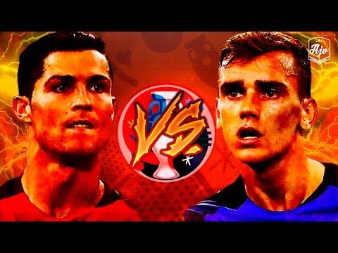 Cristiano Ronaldo vs Antoine Griezmann |EURO 2016 Final| Portugal vs France 1-0 | HD | 1080p