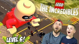 Jack Jack Saves the Day! LEGO the Incredibles Gameplay for Nintendo Switch Part 6