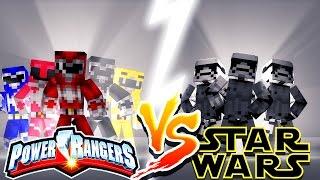 POWER RANGERS VS STAR WARS - Minecraft Challenge