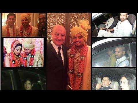 VIP Celebrities At Cricketer Suresh Raina's Wedding