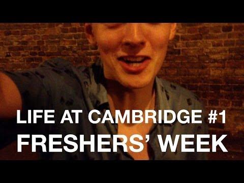 Cambridge Vlog 1 - Freshers' Week