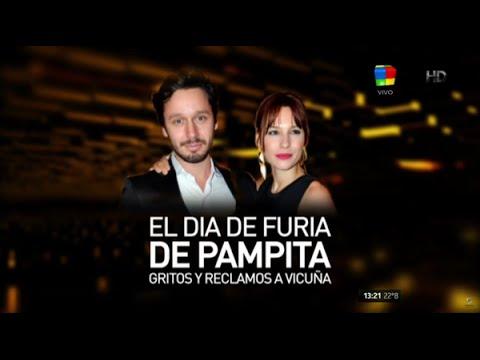 La catarata de insultos de Pampita a Benjamín Vicuña: Te la cogis.. en el auto a la mina