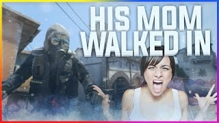 HIS MUM WALKED IN!! - CS:GO Funny Moments