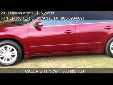 2011 Nissan Altima  for sale in Carthage, TX 75633 at PIPPEN