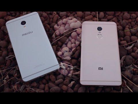 Xiaomi Redmi Note 4 & Meizu M3e // СРАВНЕНИЕ