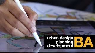 BA Urban Design Planning Development