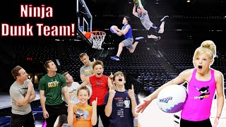 Ninja Kidz SLAM Dunk Team!