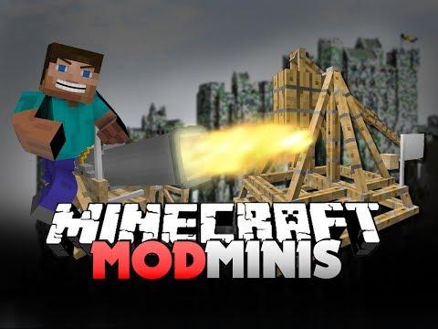 Minecraft Mod Mini - ANCIENT WARFARE