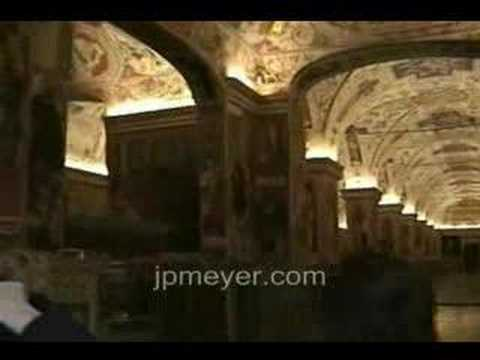 Italy travel: Rome, Vatican Museum Artwork with Perillo Tour