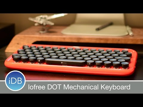 lofree DOT is a Retro, Bluetooth, Mechanical Keyboard for Mac w/ Many Features