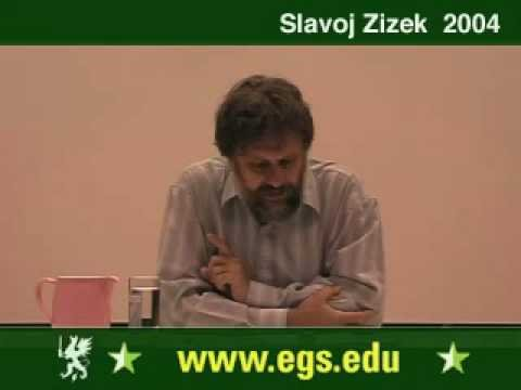 Slavoj Zizek. Plea for Ethical Violence. 2004 1/6