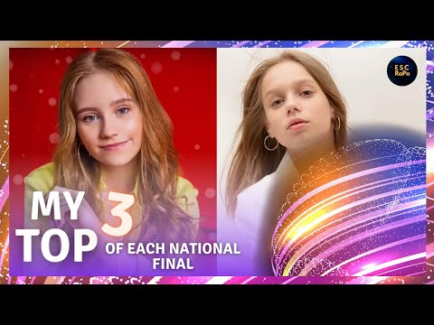 Junior Eurovision 2020 | My Top 3 Of Each National Final [