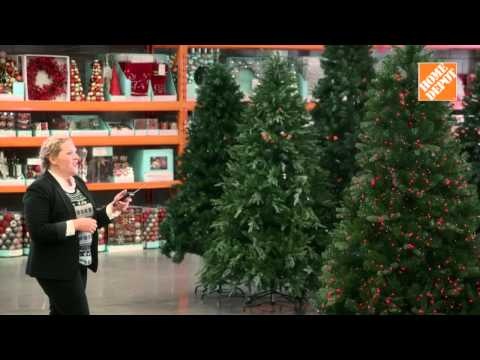 Home depot sapin youtube for Home depot christmas decorations 2013