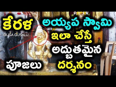 కేరళ అయ్యప స్వామి పూజలు దర్శనం | Unknown facts sabarimala ayyappa swamy temple at kerala #SaveKerala