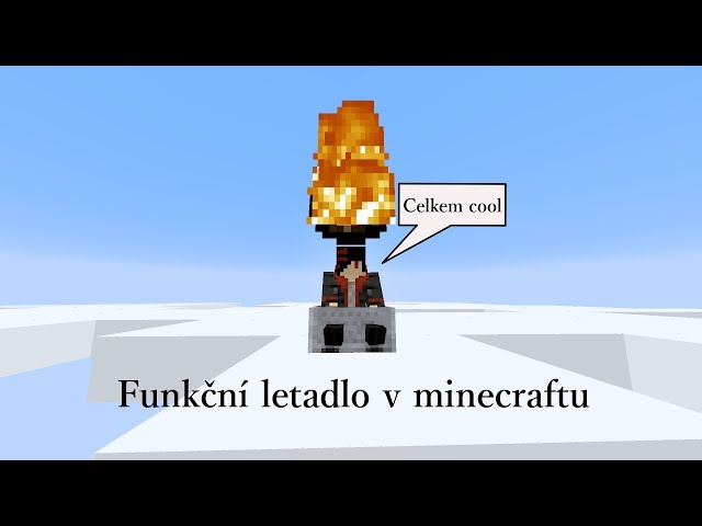 Minecraft - Funkční letadlo bez MODŮ! 1.7.4