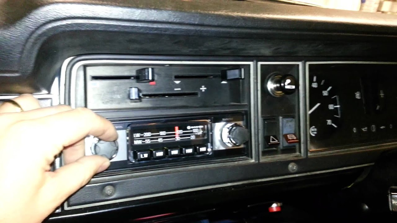 Fitting My Quot New Quot 1970 S Sanyo Car Radio In My Ford Cortina