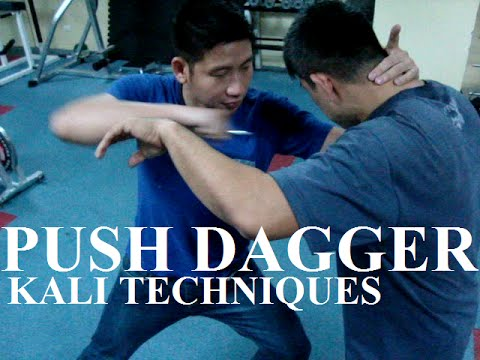 Kali Techniques applied to the Urban Pal ( Cold Steel push dagger ) Image 1