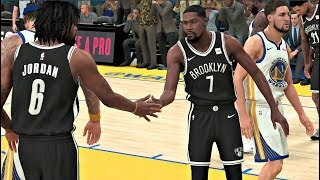 NBA 2K20 Gameplay - Golden State Warriors vs Brooklyn Nets – NBA 2K20 PS4