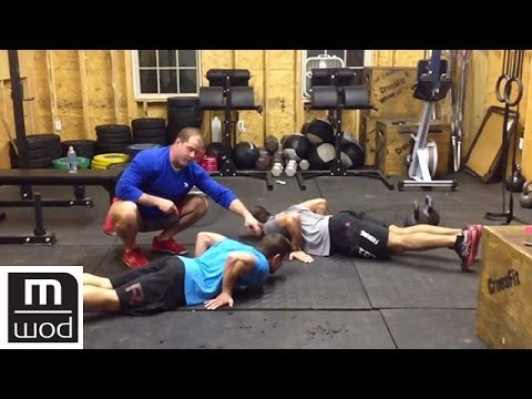 Elbow mechanics in push-ups with froning and bailey