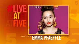 Broadway.com #LiveatFive with Emma Pfaeffle of CHARLIE AND THE CHOCOLATE FACTORY